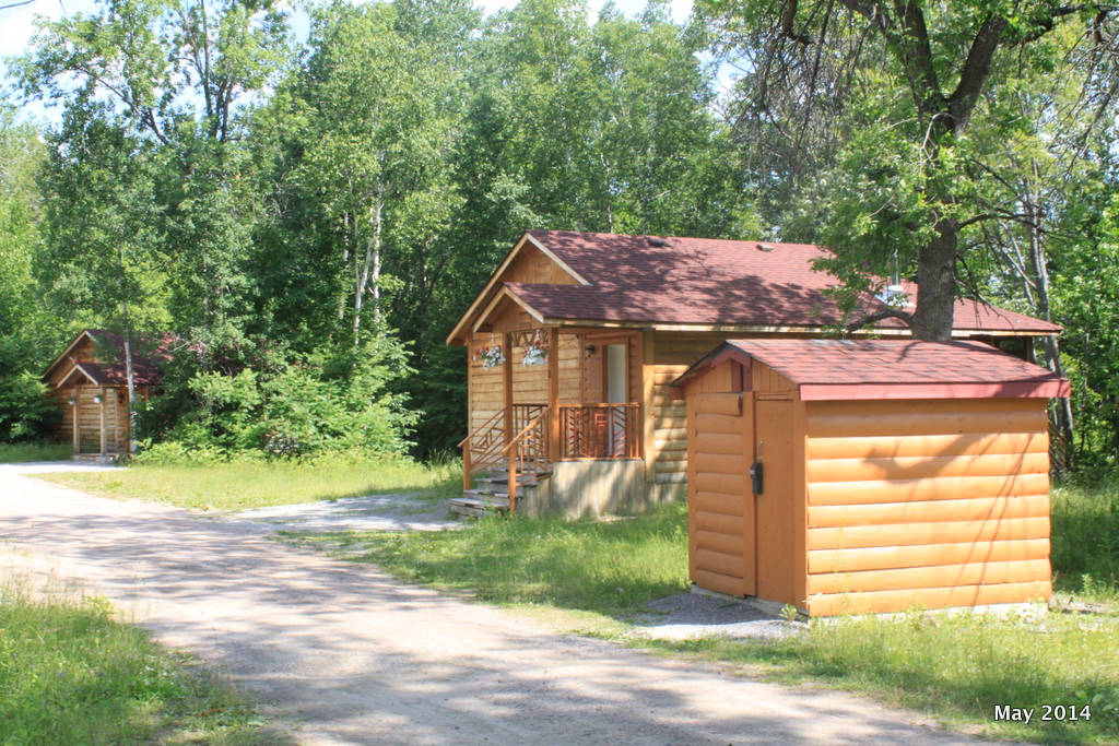 Lakefront cottages - the central piece of our property.